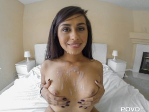 Povd Eva Saldana in Tight Muscles, Tighter Pussy